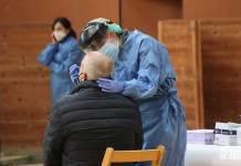 Test de antígenos realizados en el Arnedo Arena