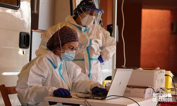 Dispositivo de vacunación frente al COVID-19 en Arnedo