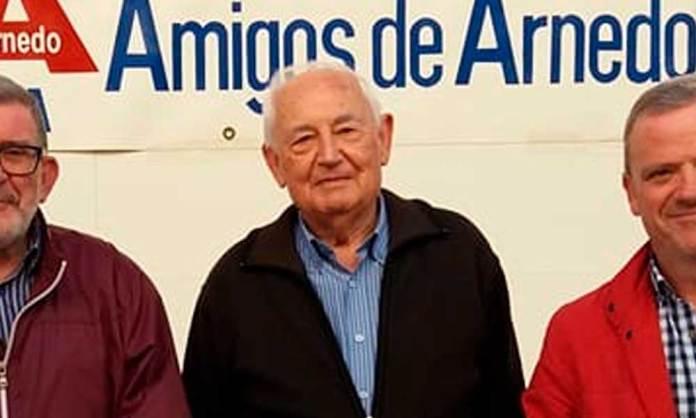 José María Fernández, en una imagen de archivo de la Asociación Amigos de Arnedo