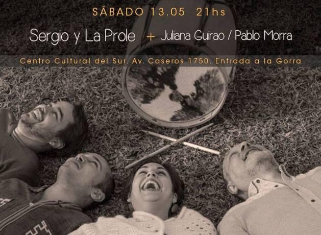 Fotos: Facebook oficial Sergio y La Prole.