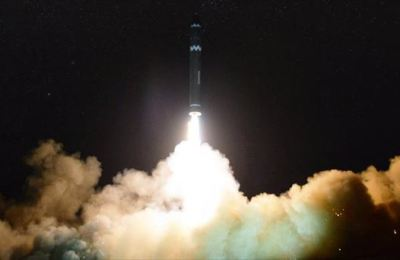 Misil lanzado ayer por Corea del Norte
