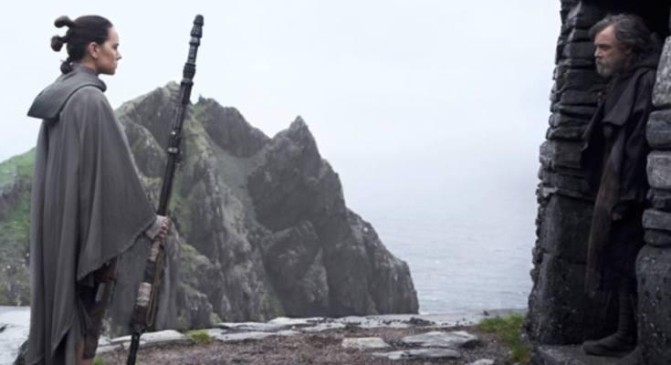 Star Wars: The Last Jedi recaudó $220 millones en su estreno