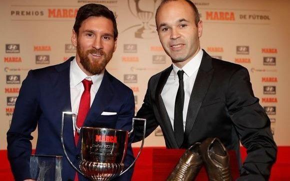 Messi ganó el premio Alfredo Di Stéfano por quinta vez