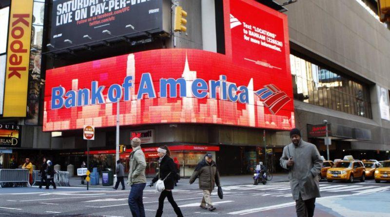 Bank of America aumenta un 370% las provisiones de crédito