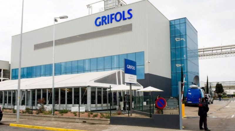 Grifols cierra el ejercicio 2020 con unas ventas 5.340 millones