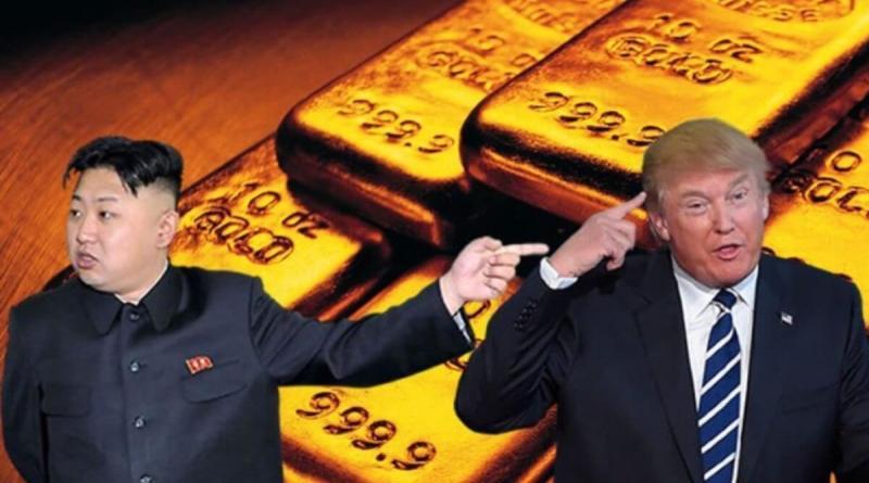 El oro actúa de refugio y toca los 1.500 dólares