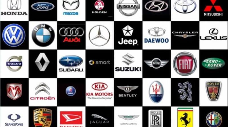 Automovilísticas, logos de marcas de coches