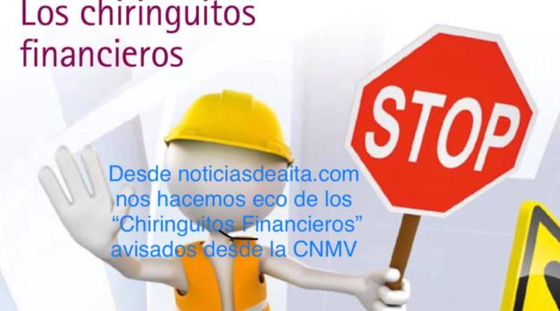 La CNMV advierte sobre casi 50 chiringuitos financieros