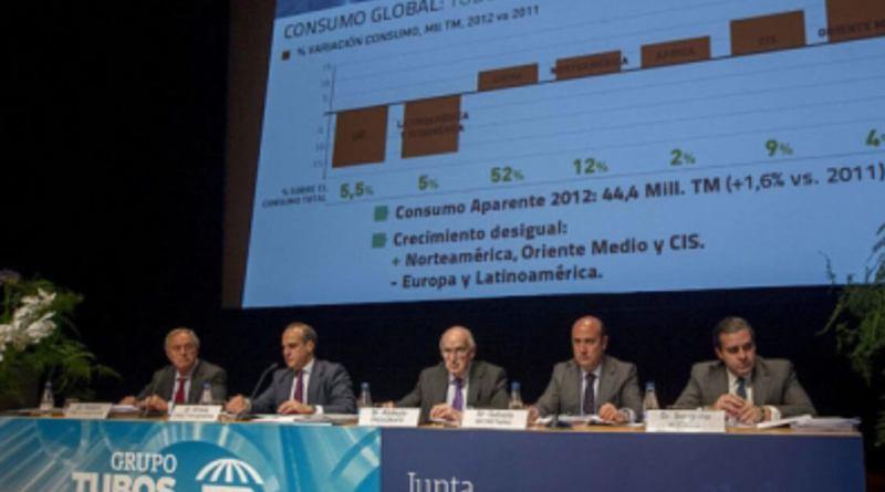 Tubos Reunidos consigue el apoyo de la banca para su refinanciación
