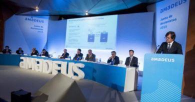 Amadeus perdió más de 95 millones de euros en el primer trimestre