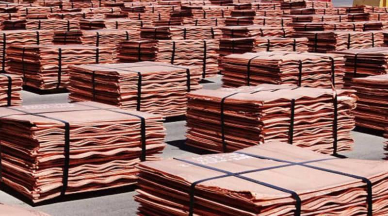 El precio del cobre bajó esta semana un 2%