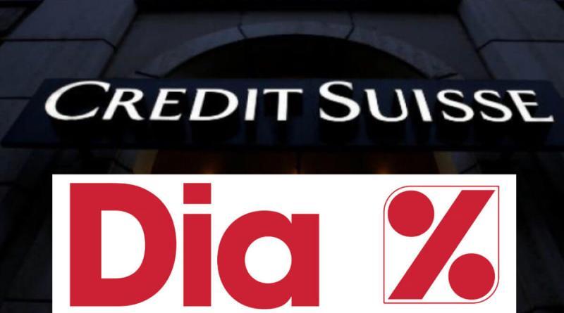 Credit Suisse mantiene prestado un 2% de DIA a los bajistas
