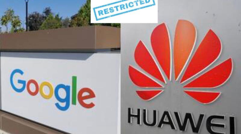 Google prohíbe las actualizaciones de Huawei