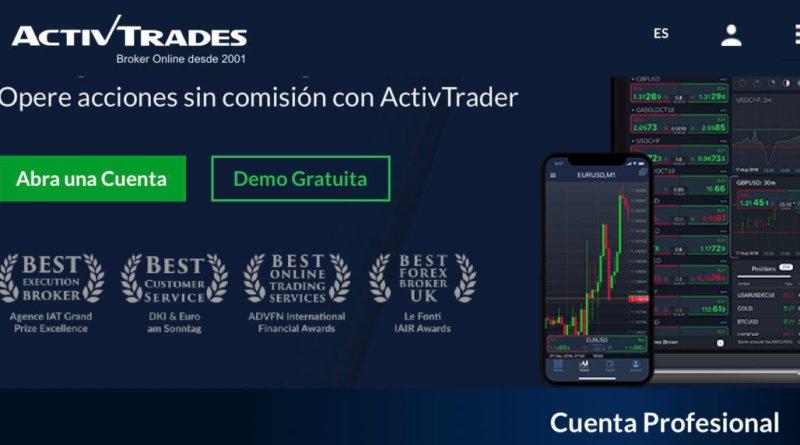Ponga su Trading en Acción con ActivTrader