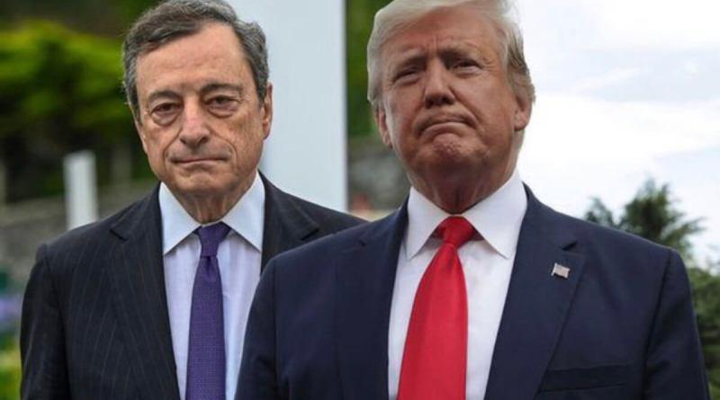 Trump dice que la Fed necesita un presidente como Draghi