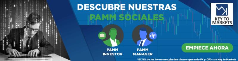 Cuenta PAMM Key to Markets