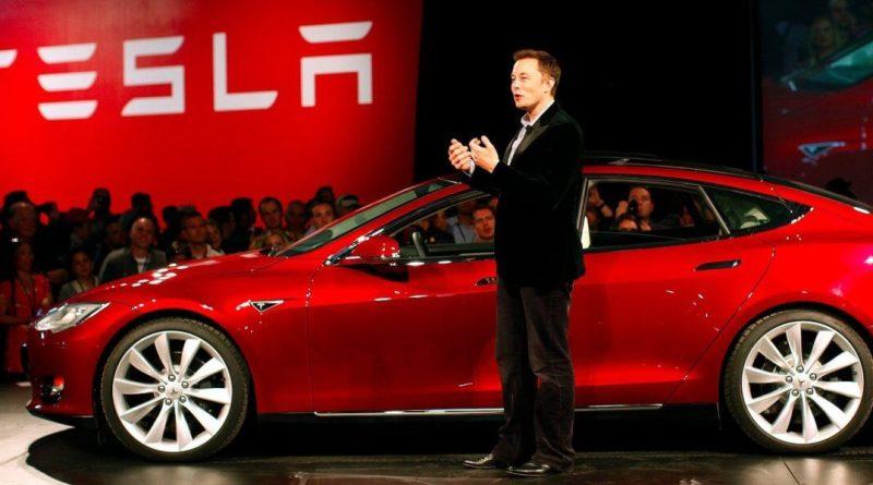 Fuertes caídas de Tesla en bolsa por la reducción de pedidos en China