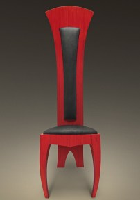 Woodland-Studios-red-chair-Repose-for-the-Queen-of-Hearts