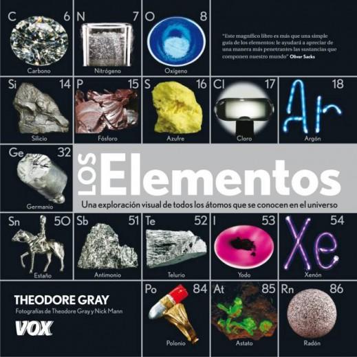Los elementos bienvenidos a descubrirlaquimica en su libro los elementos theodore gray habla de todos los elementos qumicos y un poco de la tabla peridica urtaz Choice Image