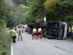 Un camionero herido en las inmediaciones del túnel del Rañadoiro 2
