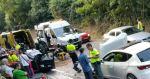 Dos heridos en un accidente de tráfico en Cangas del Narcea 1