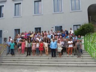 Encuentro de antiguos alumnos y profesores de las Escuelas Selgas de Cudillero 1