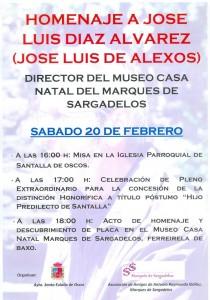 Homenaje José Luis