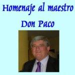 Homenaje en Castropol al maestro don Paco