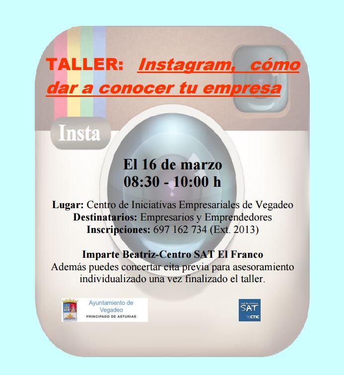 Instagram Vegadeo