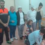 El Colegio La Paloma de Castropol acogió un taller de primeros auxilios