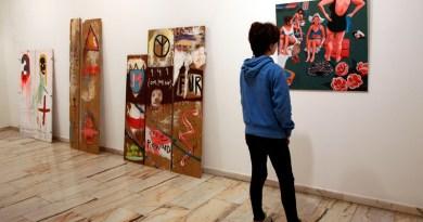 muestra de artes plásticas en Tineo