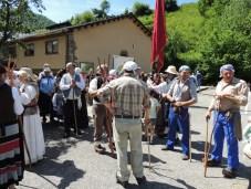 Recreación francesada en Cerredo (2)