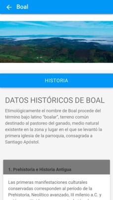 aplicación para móviles de Boal02