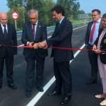Inaugurado el ramal de acceso al polígono de Barres