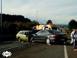 fallecido en accidente de tráfico en Tapia