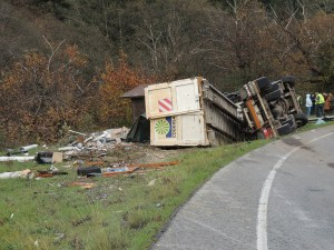 Accidente Cangas
