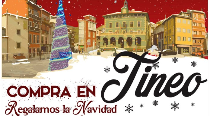 Campaña navidad comercio Tineo