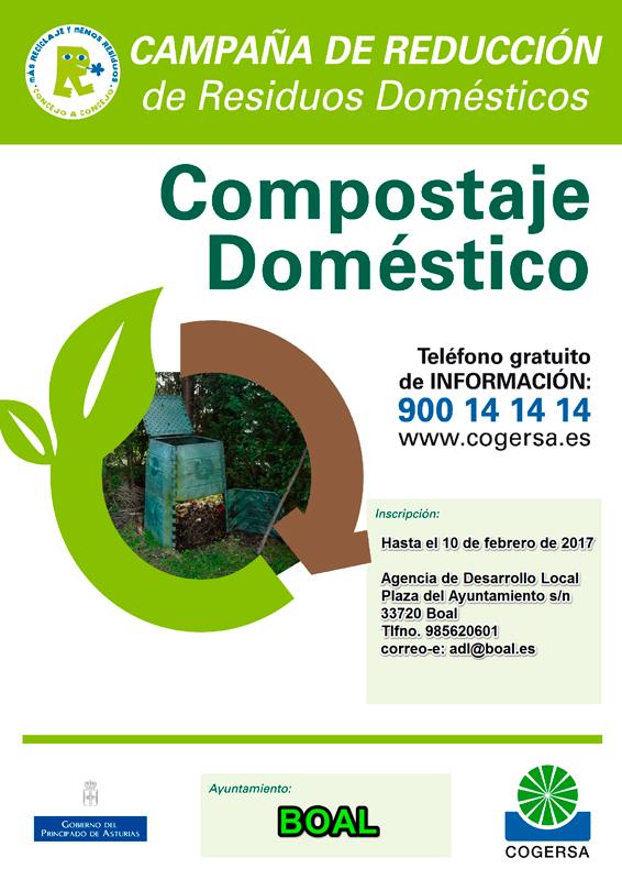 compostaje doméstico en Boal