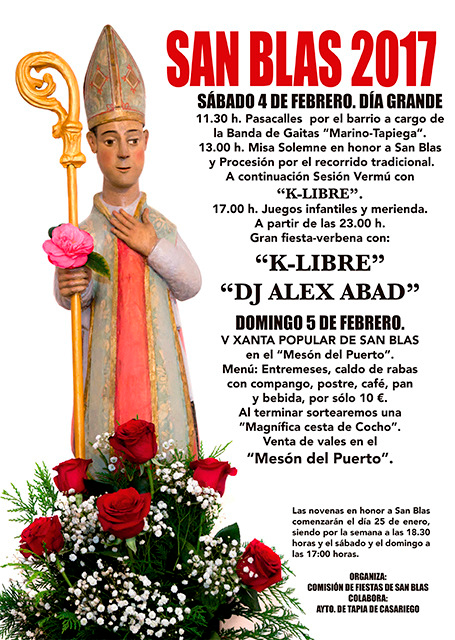 Fiesta de San Blas en Tapia