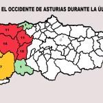 El Occidente registró 72 incendios en la última semana