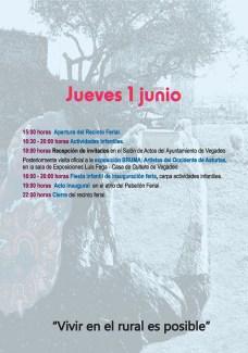 20170604 Feria de Muestras de Vegadeo Programa01
