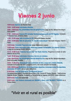 20170604 Feria de Muestras de Vegadeo Programa02