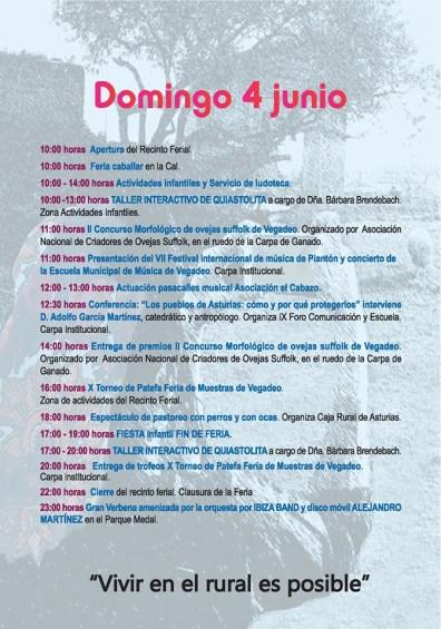 20170604 Feria de Muestras de Vegadeo Programa04