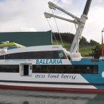 Gondán construye cuatro catamaranes de fibra para Baleària