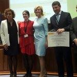 La Escuela de Salud de Tineo recoge el primer premio Estrategia NAOS