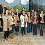 Cápsulas de café recicladas para adornar la Navidad en Tineo