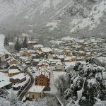 Nieve en Pola de Somiedo