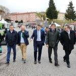 El presidente del Principado inaugura la Feria de Muestras de Tineo