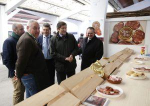 El presidente del Principado inaugura la Feria de Muestras de Tineo 2