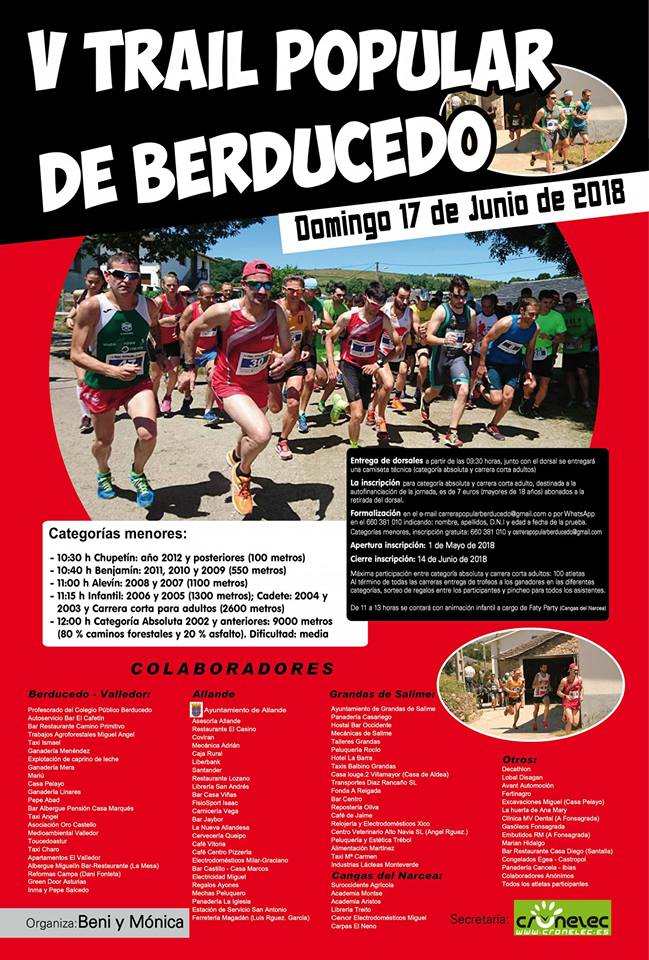 Trail popular de Berducedo